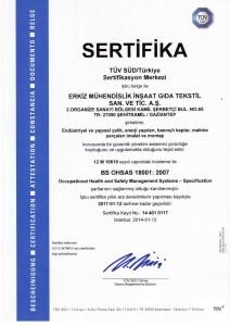 SERiFiKA_BS_OHSAS_18001_2007